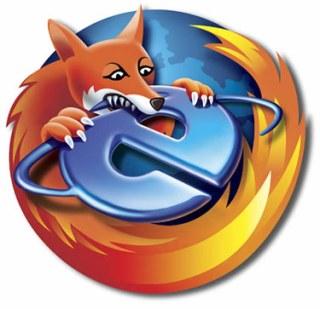 Firefox mejor que IE