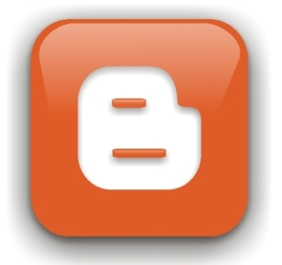 el logo de blogger.com