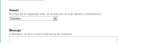 Formulario con Google Docs