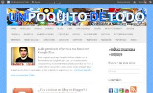 Vista previa de Un Poquito De Todo.com.ar