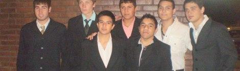 Foto de los hombres de la fiesta